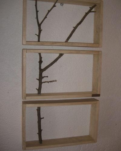 Cadre trio branches
