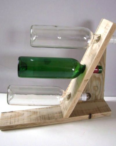 Porte bouteille trio