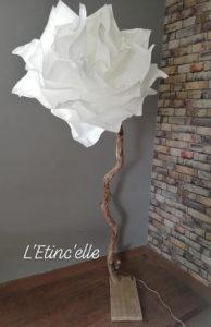 Fleur Géante lampadaire